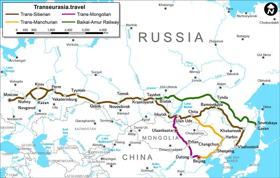 Source : Espace Transsiberien